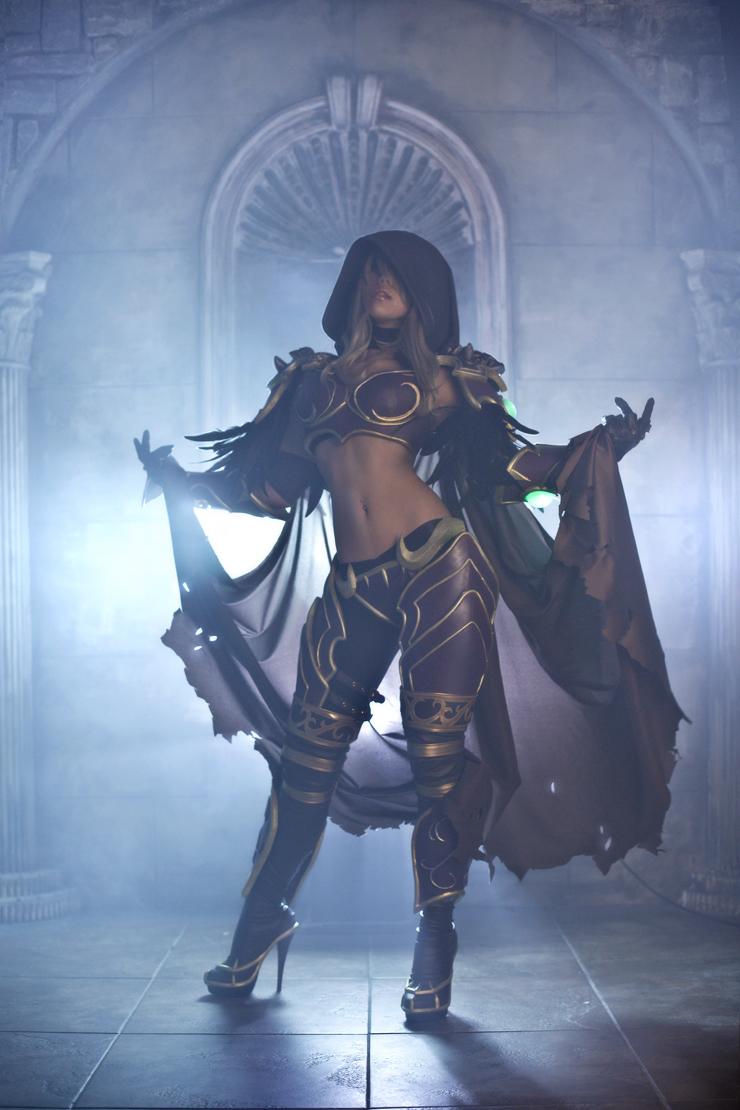 Wow sylvanas cosplay pornos image