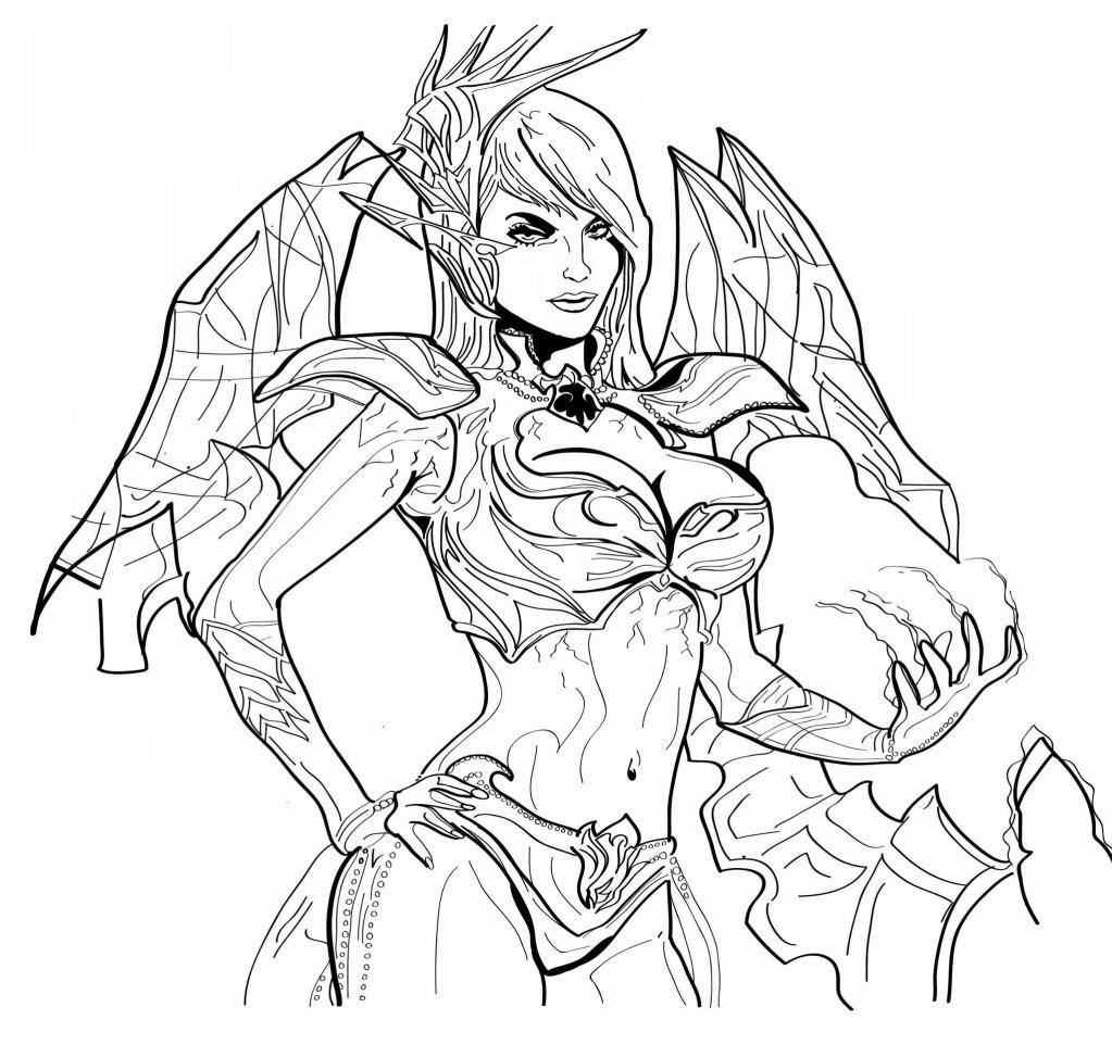 Les Dessins De Pinees • Warcraft People