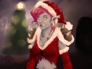 Une trollesse de Noël par Shae