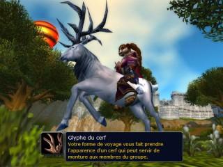 Mists of Pandaria – Druide : Glyphe du cerf