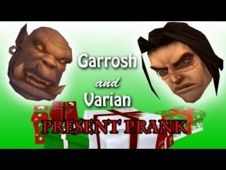 Varian offre un cadeau à Garrosh pour le Voile d'Hiver