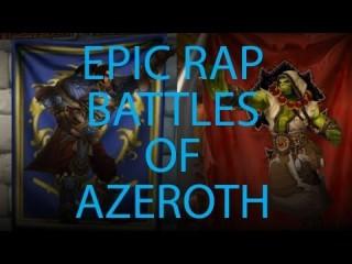 Thrall clashe Varian dans une battle de rap