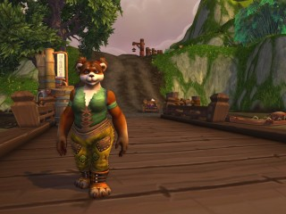 Screenshots du press tour, la femelle Pandaren révélée !