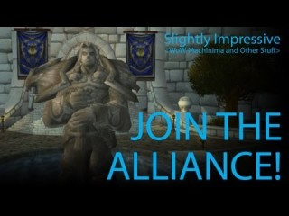 Pandarens : Rejoignez l'Alliance ! (Machinima)