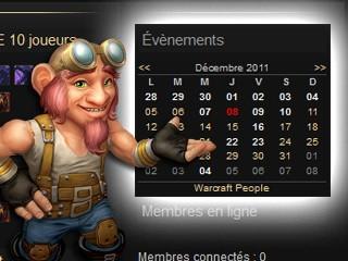Intégrez le calendrier des évènements à votre site