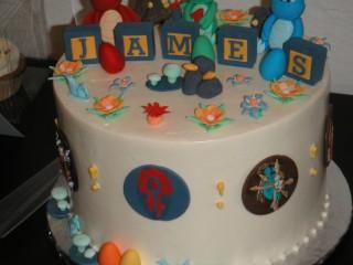Le premier anniversaire du petit James, à la sauce WoW !