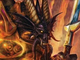 """Illustrations du JCC et fond d'écran """"Histoire de Warcraft"""""""