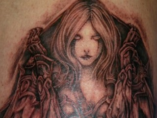 Le tatouage de Sylvanas Coursevent de Nell