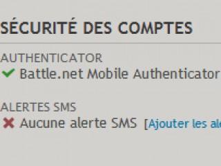 Des alertes SMS pour la sécurité de votre compte Battle.net