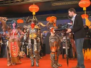 Vidéo du concours de cosplay de la GamesCom 2012