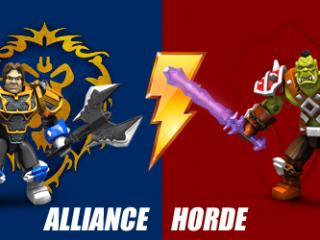 Concours Megabloks sur WoW MP : Combattez pour votre faction