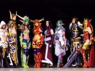 Les cosplays WoW de JapanExpo Sud