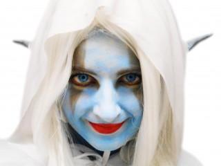 Un costume d'elfe de la nuit pour Halloween