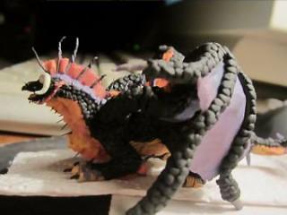 Figurine de drake onyxien de Cheshin