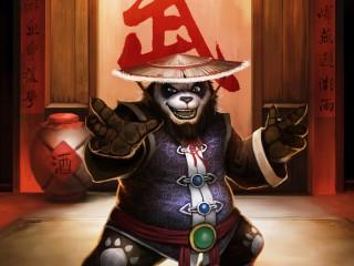10 fan arts sur le site officiel, avec des pandas !