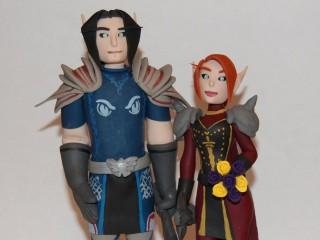 Vos avatars World of Warcraft sur votre gâteau de mariage ?