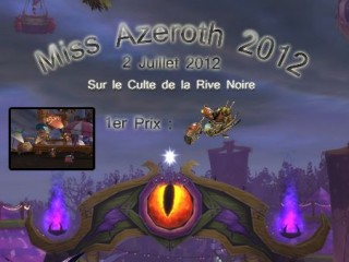 CdRN – Élection de Miss Azeroth 2012 le 02/07