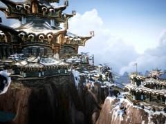 Le Sommet Kun-Lai par Baron Soosdon