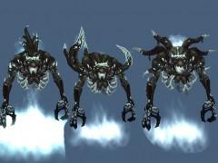 Mists of Pandaria : Nouveaux modèles des Mantides et des Sha