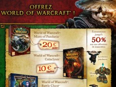 Offrez World of Warcraft pour Noël