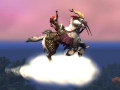Une monture chèvre volante dans la boutique Blizzard ?