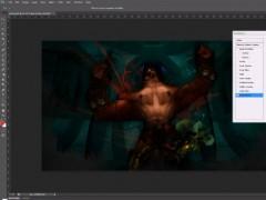 Vidéo – Création d'un fond d'écran sur Photoshop