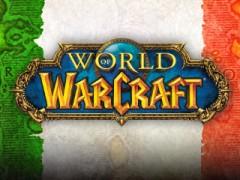 World of Warcraft maintenant disponible en italien