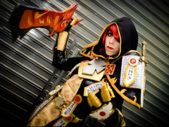 Romi Lia : Cosplay d'une paladine T2 (Jugement)