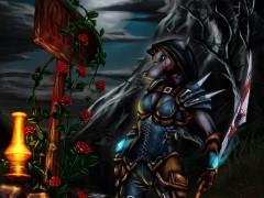 Shoral : Un fan art worgen en guise d'adieu par Apalmemnom