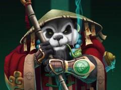 Fan art d'un moine Pandaren par Keltanor