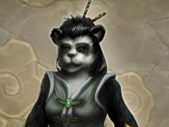Artwork de femelle pandaren par Robert Mekis