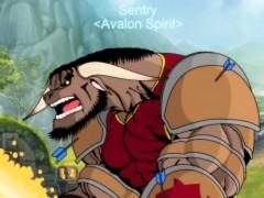 Fan arts : Un tauren et un paladin humain de Sentry