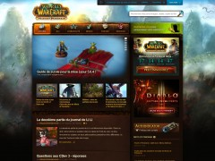 Le site officiel adopte les couleurs de Mists of Pandaria
