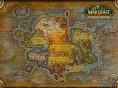 Mists of Pandaria : Carte de la Pandarie et screenshots