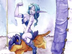 Mischiev – Elfe de la nuit à Sombrelune