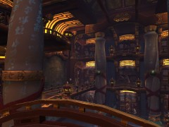 Mists of Pandaria : Screenshot #7 – Monastère Pandashan