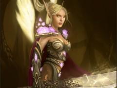 Paladine elfe de sang par Jezebel