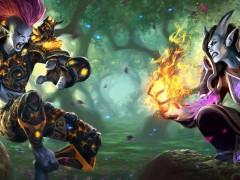 Crown of the Heavens - Troll vs Draenei